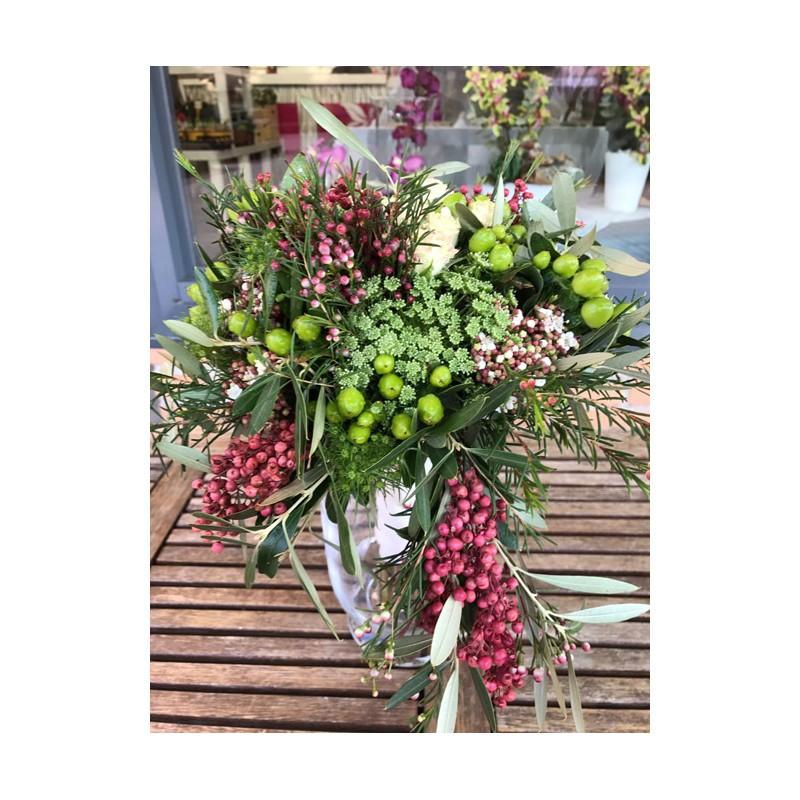 centro de flores para bodas